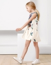 Art Floral Print Dress
