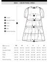Denim Panel Dress