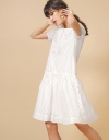 LIMITED EDITION Sleeveless Openwork Drawstring Dress