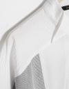 Curved Hem Belted Shirt Dress