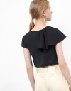 Asymmetric Drape Top