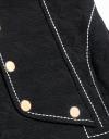 Asymmetric Button Shift Dress