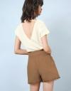 Scalloped Lace Shorts