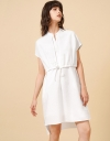 Overlay Shirt Dress