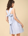 Textural Dress With Tied Back